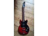 Vintage Hofner Colorama Red (1961-62) Solid Body