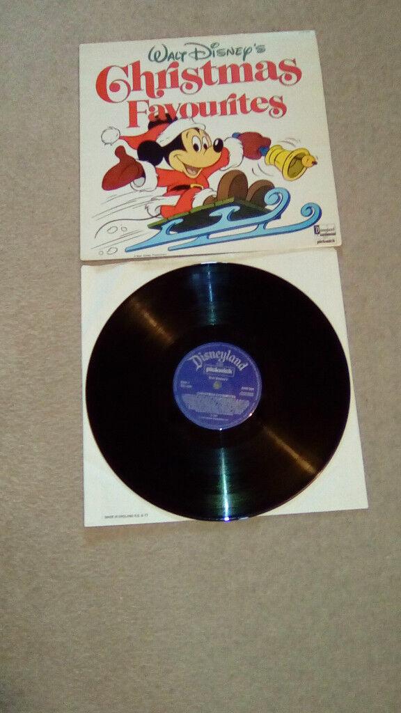 WALT DISNEY'S CHRISTMAS FAVOURITES-1958-12.INCH VINYL LP(EX+/M)