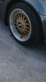 195/45R15 BBS style wheels for sale