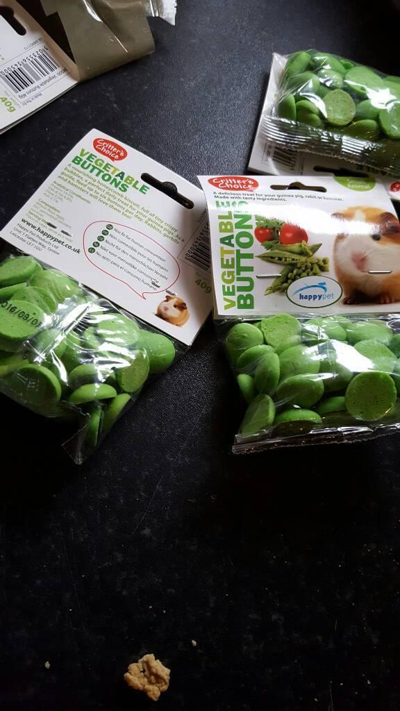 Critters choice veg buttons 6x40g