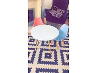 Eames style children's table & chair set