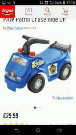 Paw patrol chase truck