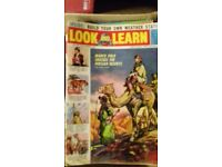 Look and learn plus On The Road Magazines