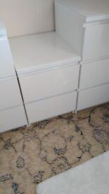 IKEA drawers white