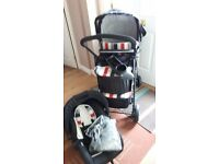 Hauck 3 in 1 travel system. Excellent condition, barely used.
