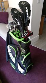 Full set of Cobra F7 clubs - Only 4 weeks old