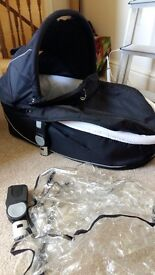 icandy apple pram and carrycot