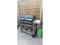 Original Aussie Roaster BBQ for use with Propane gas or you can change regulator. Comes with cover