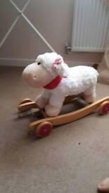 Legler rocking sheep