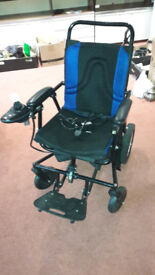 Folding Electric Motorised Wheelchair by Shoprunner