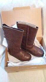 EMU Women's Narooma Chocolate Pull on Boots UK size 6