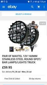 4x4 spot lights