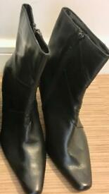 Women's New Black Boots