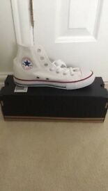Children's brand new boxed converse hi tops