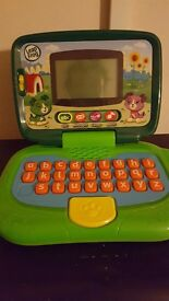 Leapfrog laptop. Plays music and games