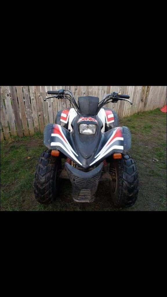 Cobra 180cc quad