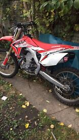 Road legal crf 450