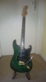 Warmoth stratocaster with blend system SWEET guitar ..offers welcome