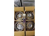 Genuine work wheels CR2P 18 inch