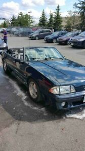 1989 Convertible Ford Mustang GT