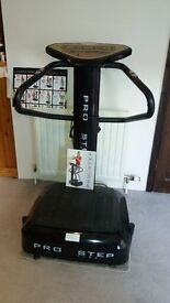 For Sale - PRO STEP PLUS Vibration Plate Excersiser