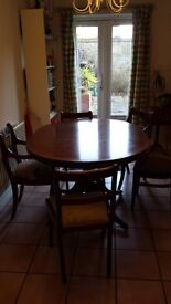 Elegant Table and 4 chairs for sale £40
