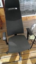 A desk chair