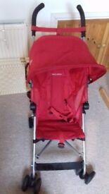 Maclaren Globetrotter push chair and sunshine kids buggy bag