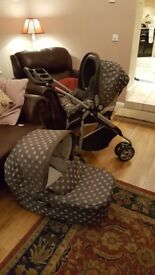 Mamas&papas 8 in 1 travel system