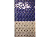Bathroom Tiles for Sale (Blue, White & Brown), based in London