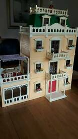NOW SOLD Sylvanian families house, furniture and family