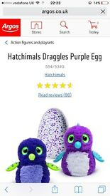 Hatchimals purple egg. Xmas 2016 most sought after toy. Out of stock everywhere!! Ready to collect