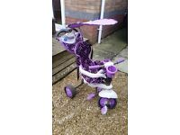 Purple Toddler Smart Trike