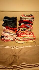 Large bundle of girls 9-12months clothes