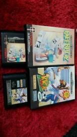 Mega drive games bundle paper boy