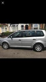 VW TOURAN 2005 Low mileage !