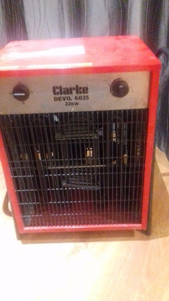 Heater - Clarke devil 22kw space heater vgc£100