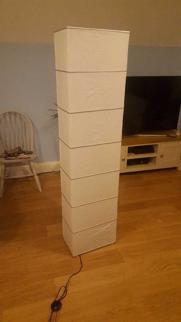 Tall floor lamp - living room / study / bedroom - excellent condition - south London