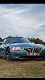 BMW Z4 3.0, £3,699 ONO, convertible, business sound system (subs), 6 cd changer, bluetooth