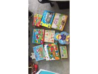 Puzzles and games for sale