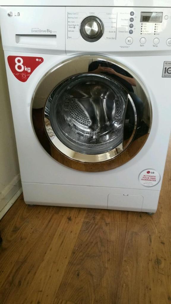 lg direct drive washing machine tub clean