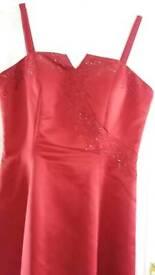 Red prom/bridesmaid dress