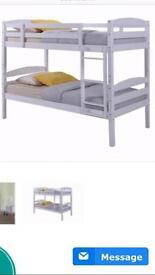 ****BIRLEA bunk beds (white) rrp £239 our price £165.00 Ono*+**