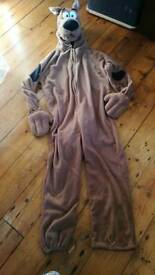 brilliant scooby doo costume, adult size, Fancy dress