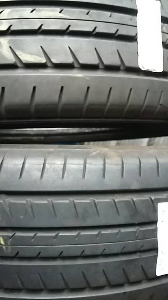 225/55/18 toyo part worn tyres used tires