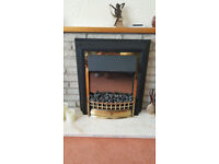 Coal effect Dimplex free standing electric fire