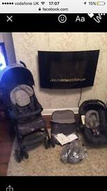 Mothercare curv travel system