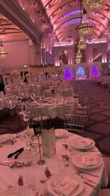 Chiavari chairs hire , Ghost chair hire, Lien hire , Tables hire,