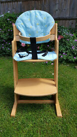 Baby Dan High Chair parts included