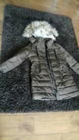 Brand new new look winter coat size 16
